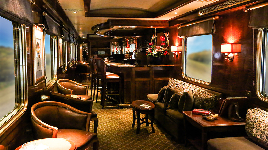 Lounge of the Blue Train