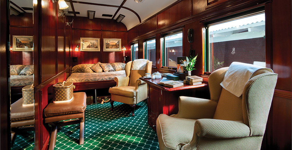 Royal Suite of Rovos Rail