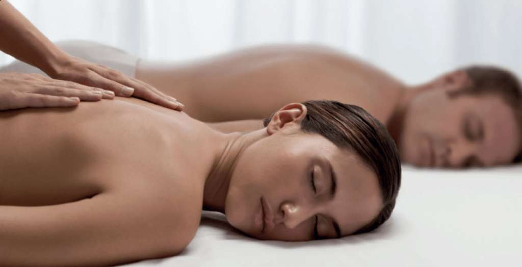 Get pampered at the spa