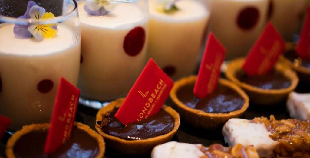 Sample sweet treats at Le Marche
