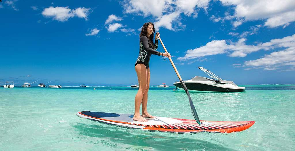 Try your hand at paddleboarding