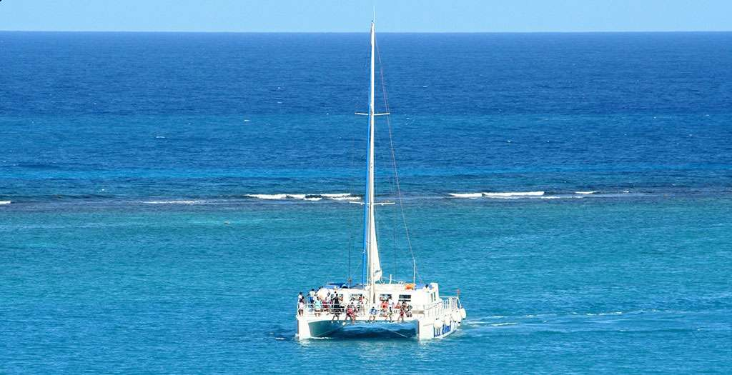 Go on a catamaran cruise