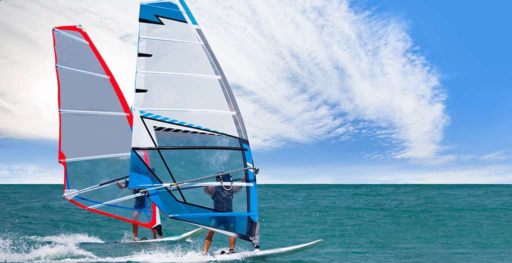 Take up windsurfing