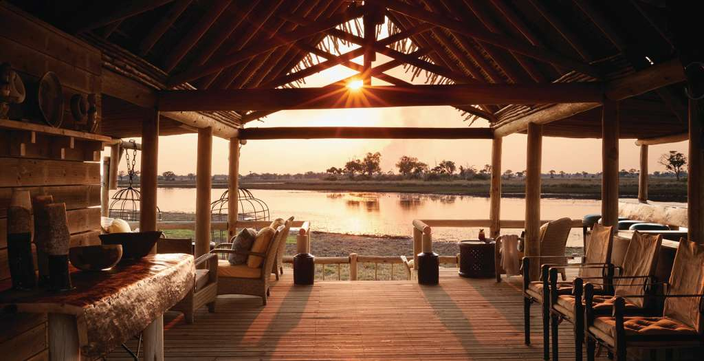 Take in the views from the lodge