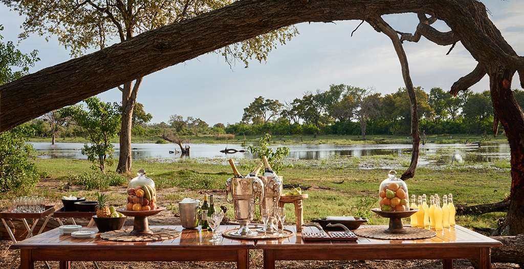 Private dining in the wild