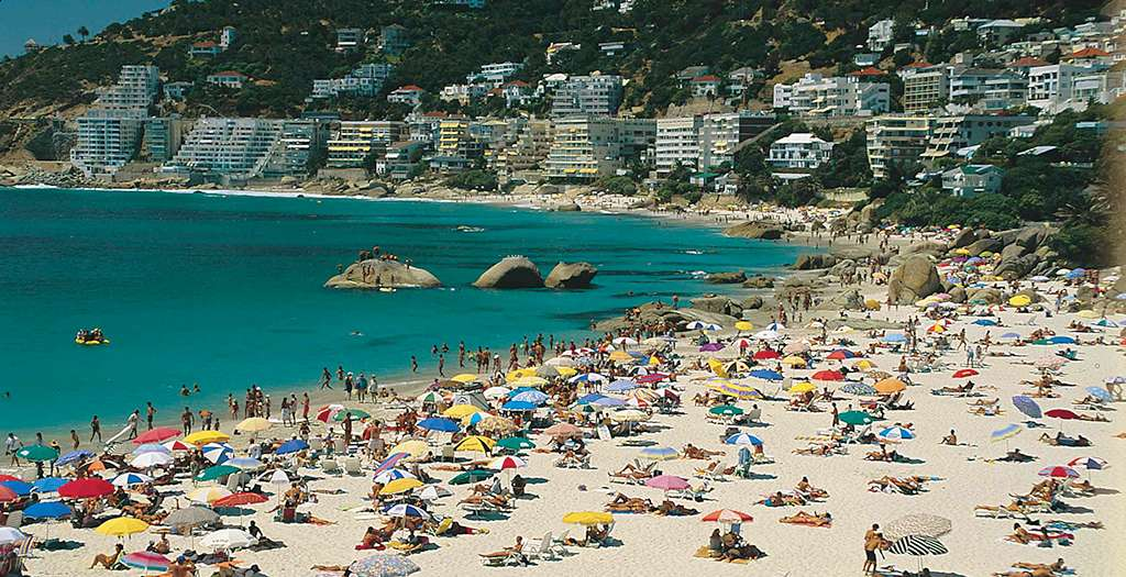One of Cape Town's many beaches