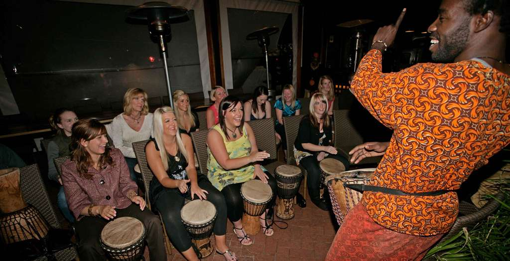 Go drumming at the Gold Cafe