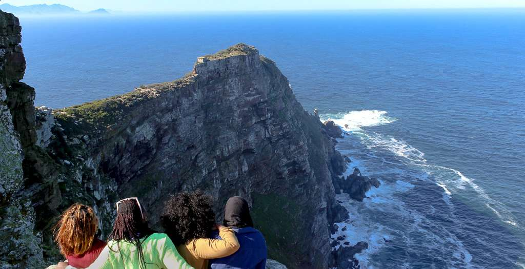 See the tip of Africa