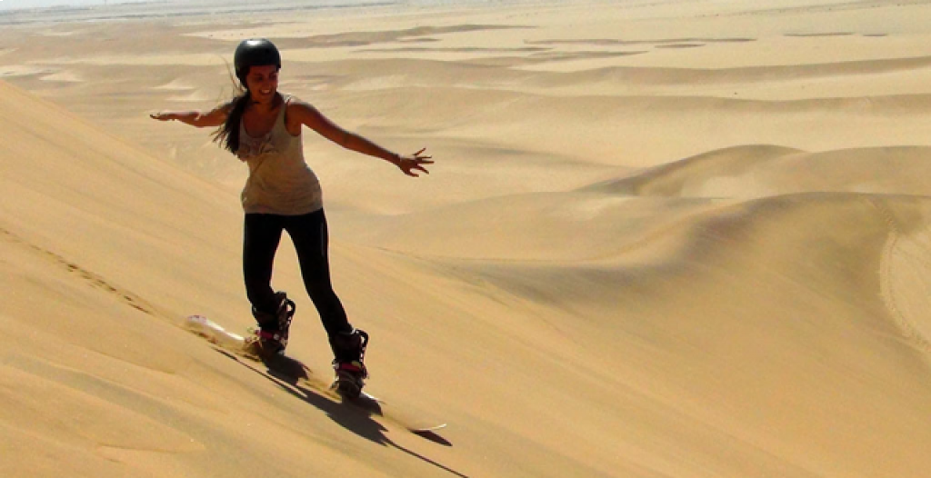 Surf the dunes