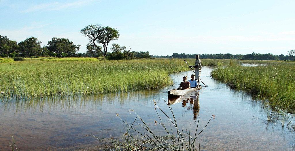 Explore the Okavango Delta by Mokoro