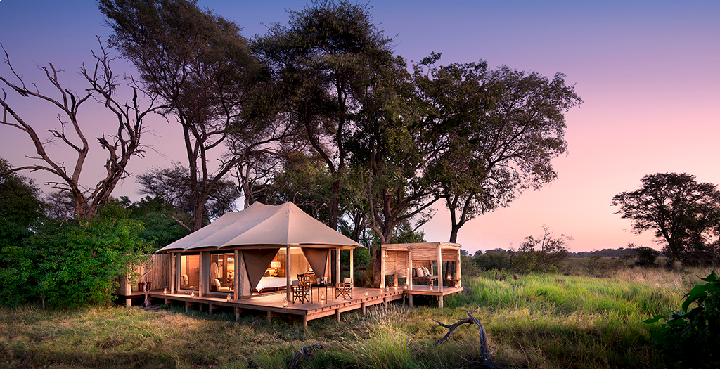 Stay at Nxabega Tented Camp