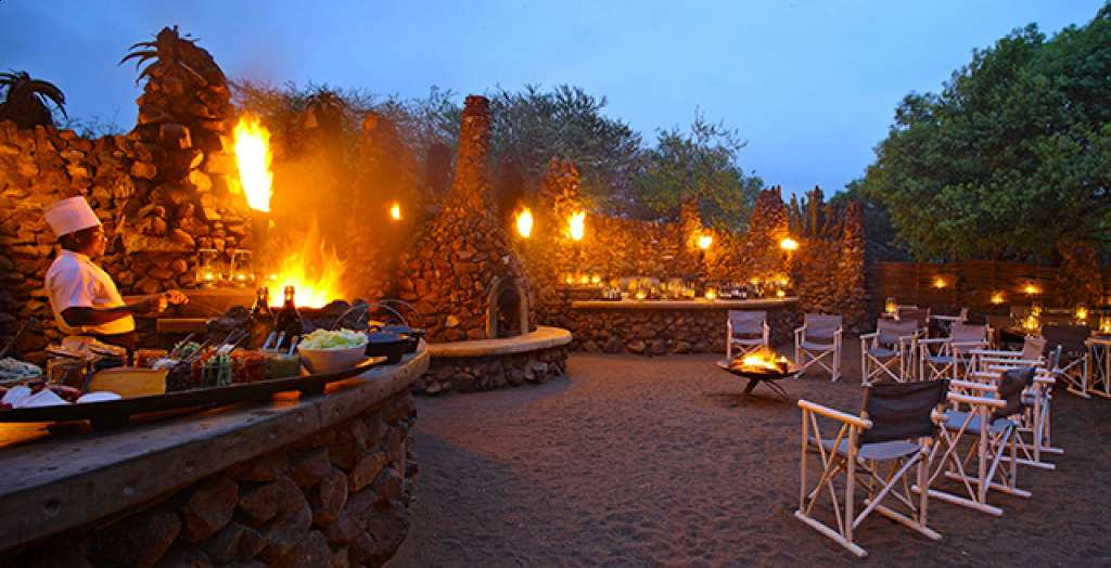 Savour an African feast at the boma