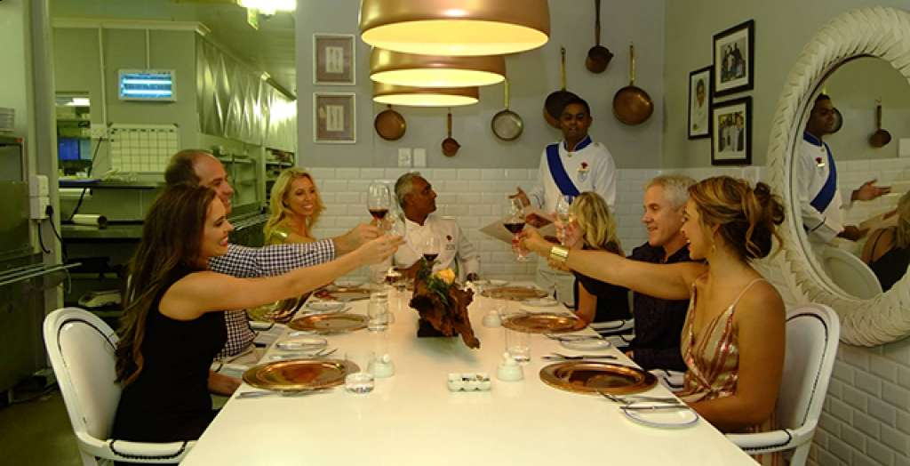Dine at the Chef's table