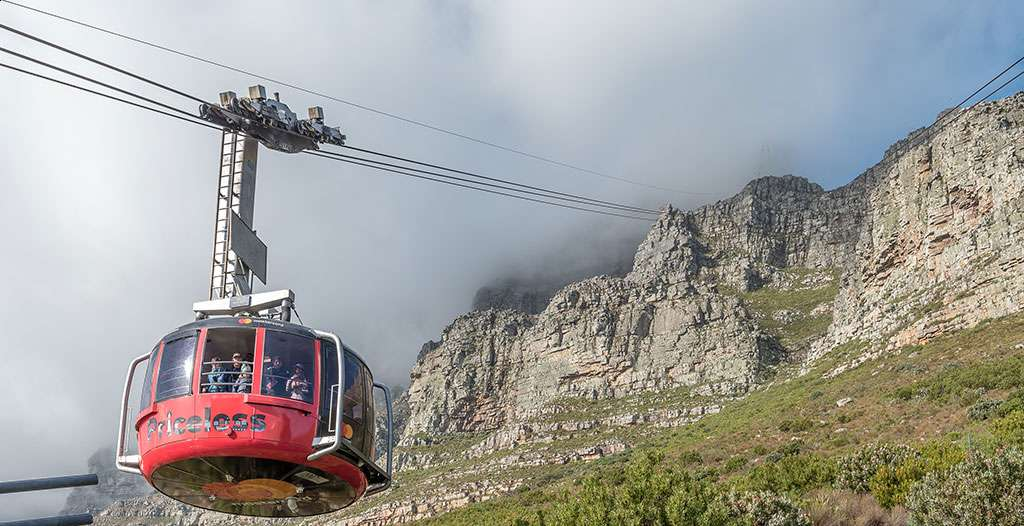 Take the cable car to Table Mountain