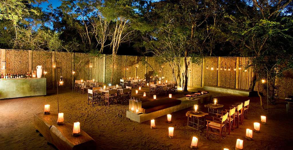 Dine at the boma
